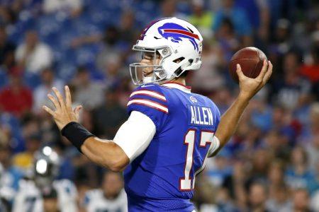 Bills rookie QB Josh Allen causing big buzz in Buffalo