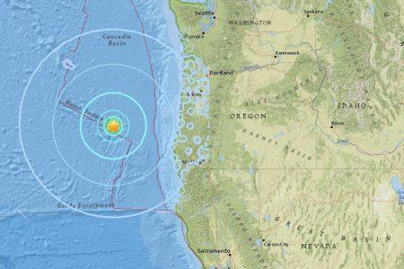 Earthquake and aftershock rattle Oregon coast