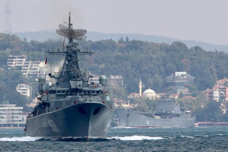 Russia says it will hold war games in Mediterranean this week