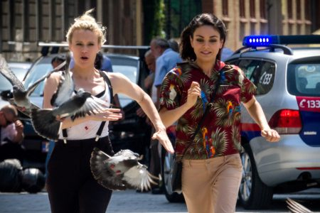 Mila Kunis and Kate McKinnon on their instant friendship, stunts gone wrong, and black market kale