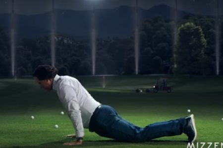 The tale of Phil Mickelson's dancing golf shirt commercial started with The Worm