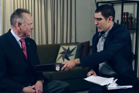 Roy Moore Sues Sacha Baron Cohen and Showtime, Seeking $95 Million