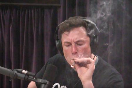 DealBook Briefing: Elon Musk Smoked Weed On Air