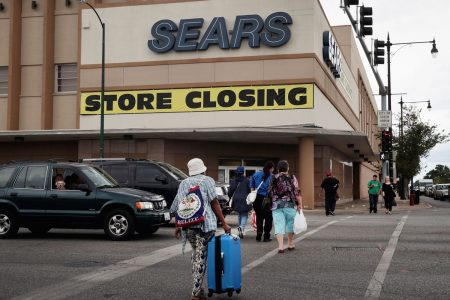 Sears slows same-store sales decline, but losses double with more closures ahead