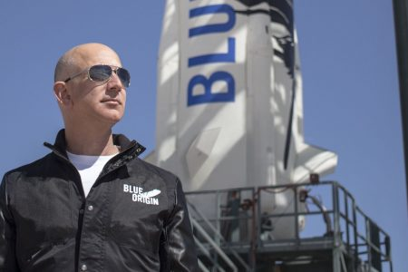 Amazon's rising stock gives Jeff Bezos 'financial muscle' in outer space equal to whole countries