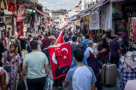 Turkish central bank hikes rates in a bid to save tumbling currency