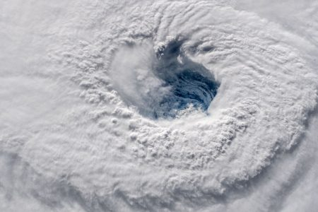 NASA shared these chilling images of Hurricane Florence from space