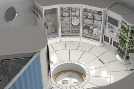 Look inside a deep space habitat for NASA to take astronauts to Mars