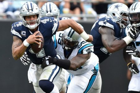 NFL Week 1 Live Updates: Cowboys Nearly Shut Out in Loss to Panthers