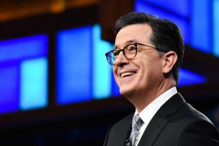 "Stephen Colbert says he's ""not surprised"" by Leslie Moonves' exit"
