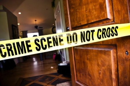 Blood dripping from ceiling uncovers apparent murder-suicide, police say
