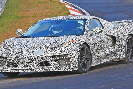 Secret mid-engine Chevrolet supercar spotted in Germany