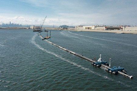 Massive boom hopes to corral Pacific Ocean's plastic trash