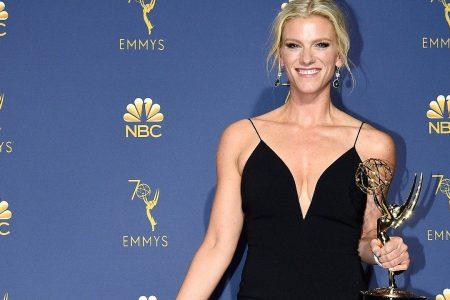 Ben Affleck's ex-girlfriend Lindsay Shookus wins third Emmy for 'SNL'