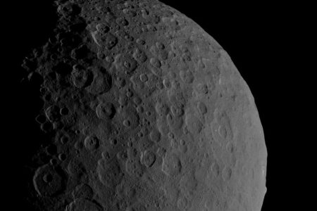 Massive ice volcanoes once covered dwarf planet Ceres eons ago