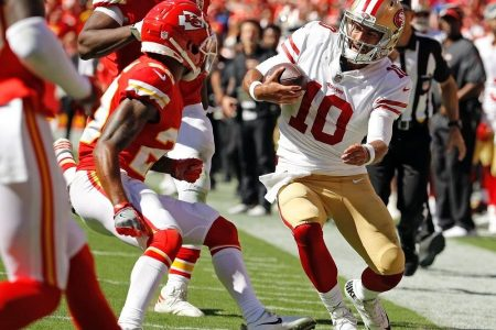 49ers lose Garoppolo to possible ACL injury