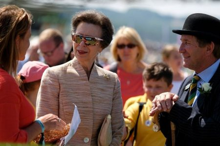 Queen Elizabeth's daughter Princess Anne explains why she doesn't shake fans' hands