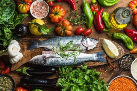 Mediterranean diet has benefits even in old age, study suggests