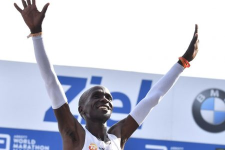 Eliud Kipchoge Breaks Marathon Record at Berlin Marathon