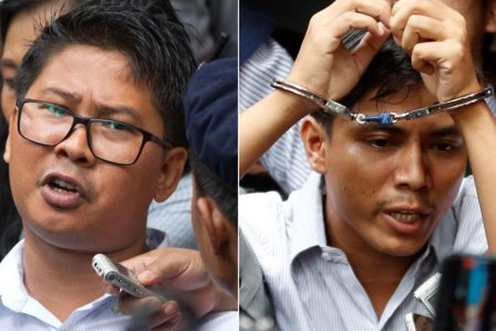 Two Reuters journalists jailed in Myanmar: A poor rice farmer's son and a poet