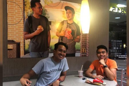 McDonald's gives pranksters $50000 after they hung a fake ad to make a point about representation