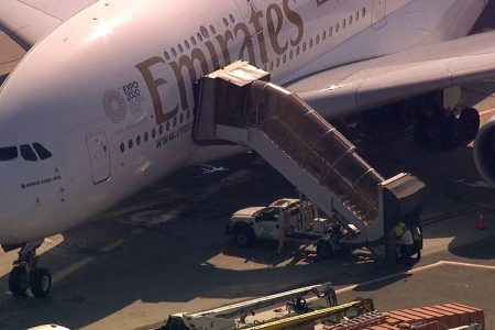 CDC meets plane at JFK after passengers report feeling ill