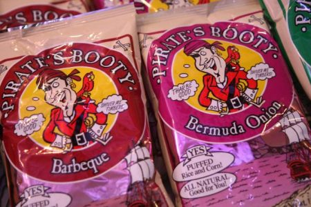 Hershey's buys Pirate's Booty to double down on healthy snacks