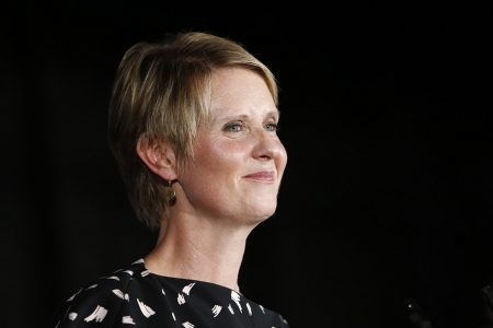 'Vanity project': Cynthia Nixon gets The Gong Show treatment