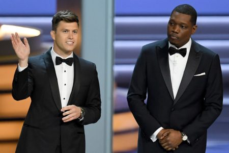 Emmys Monologue: 'Ronan Farrow Is on Line One'