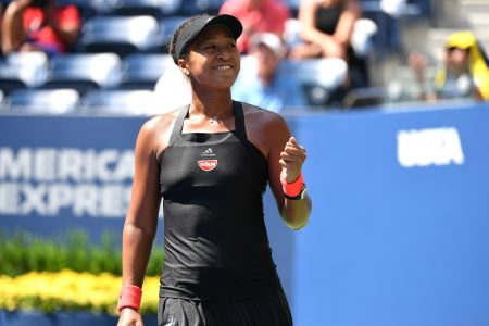 US Open: Naomi Osaka breezes into her first major semifinal