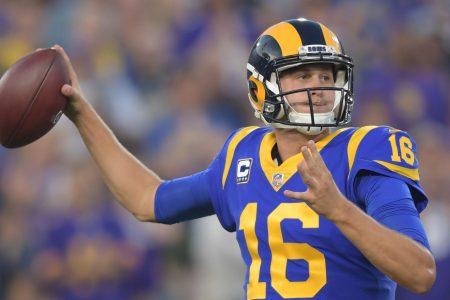 Jared Goff's big night helps Los Angeles Rams win shootout against Minnesota Vikings