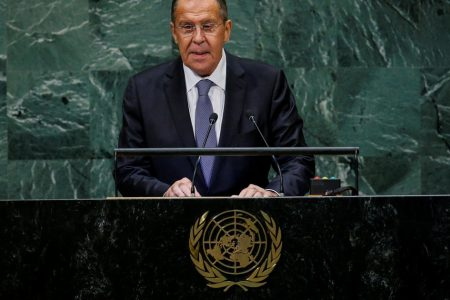 Russia levels blistering attack on Trump at UN, then calls for truce