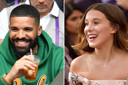 Millie Bobby Brown, 14, says Drake, 31, texts her boy advice