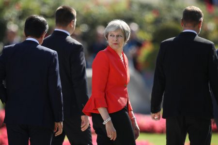 Brexit Talks at 'Impasse,' Theresa May Says, After a Rancorous Summit