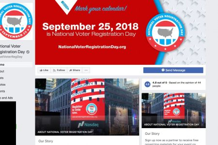 Happy National Voter Registration Day. Here's how to register to vote online