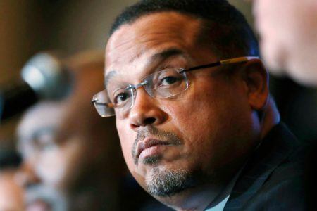 Ellison, Trying to Clear Name, Calls for Investigation Into Abuse Claims