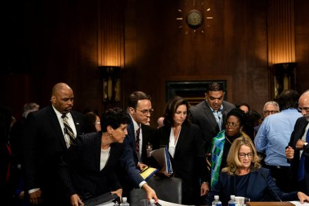 Kavanaugh Hearing Live Updates: Christine Blasey Ford Is '100%' Certain Assailant Was Kavanaugh