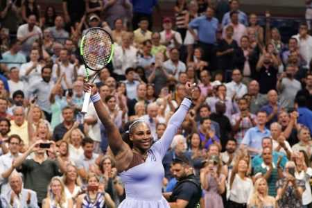 Serena Williams looks as dominant as ever as she zips into the US Open final