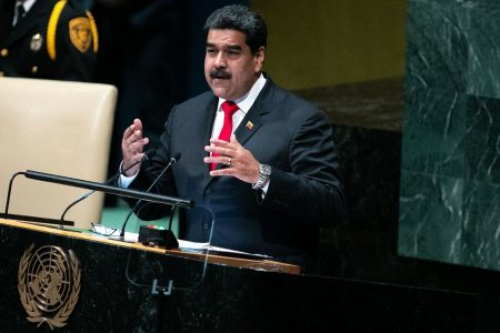 Maduro comes to New York despite being spurned by White House