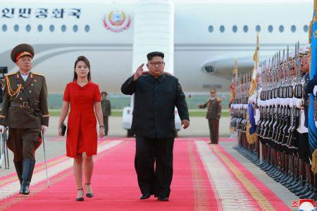 The women who lift N. Korea leader Kim Jong Un's image: sister Kim Yo Jong, wife Ri Sol Ju