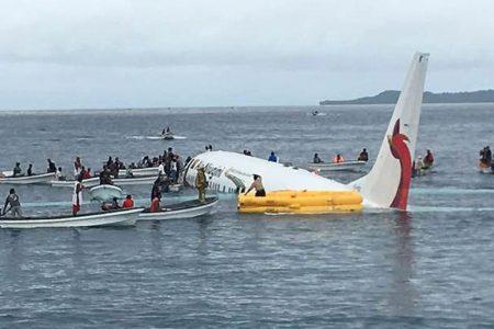 Passengers, crew survive after Air Niugini plane crashes into sea in Micronesia