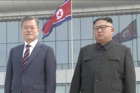 South Korea's Moon arrives in Pyongyang in bid to revive stalled nuclear talks