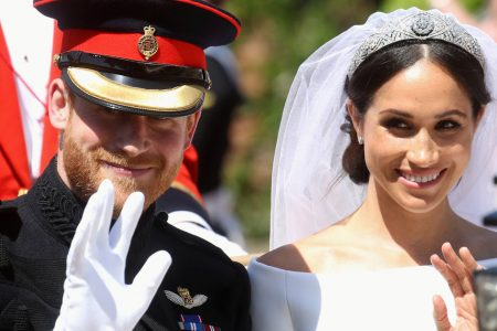 Meghan Markle's Veil Holds A Tender Tribute To Her First Date With Harry