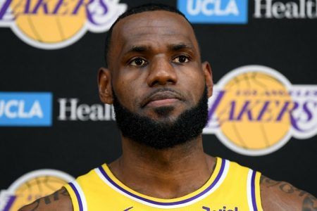 The Lakers' plan for how to use LeBron James still has a major question mark
