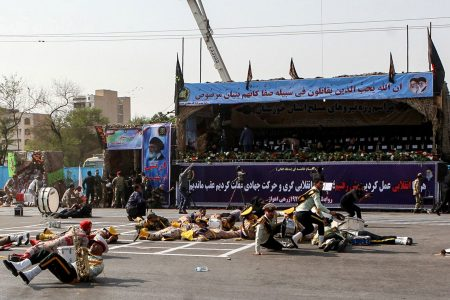 At least 24 killed as gunmen open fire at Iranian military parade