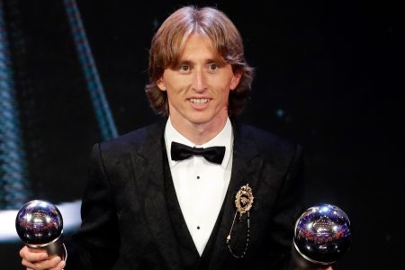 Modric wins FIFA world player of year, ends Ronaldo-Messi duology; Salah has goal of year