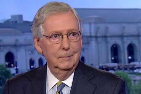 McConnell says GOP is in 'knife fight' to hold the Senate