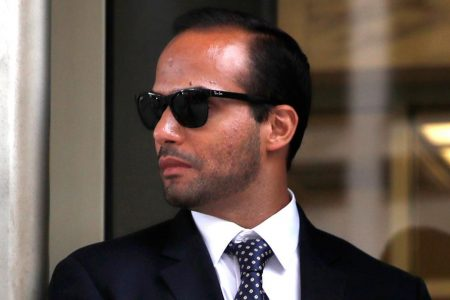 Convicted ex-Trump aide George Papadopoulos suggests Sessions lied to Congress about Putin summit