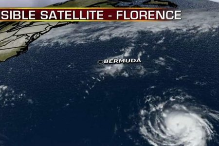 Florence forecast to become 'major hurricane,' moving towards southeastern US