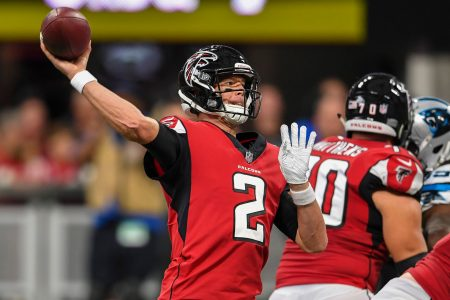 Matt Ryan, Falcons offense find their touch in win over Panthers